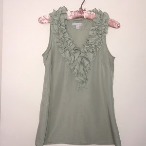 SWEET RUFFLED NECK BLOUSE NY&CO